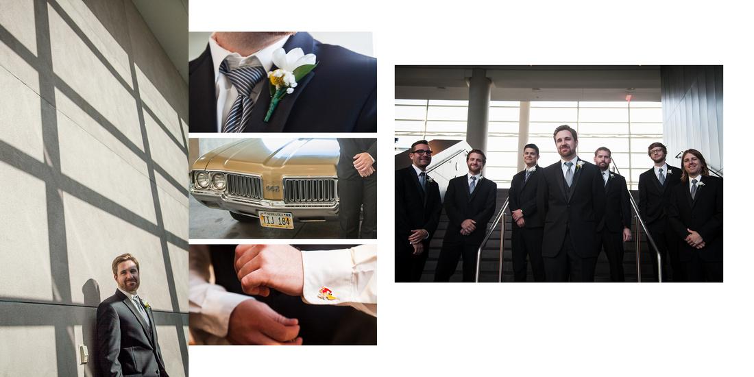 Erin  Ryan Wedding Album Pages3
